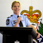 Sergeant Heidi Rix, Cloncurry Police Station sharing her experience running the Cloncurry PCYC